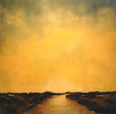 Golden Twilight 20x20